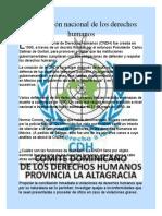 La comisión nacional de los derechos humanos