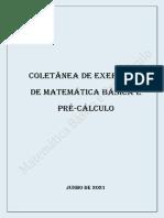 Coletanea Exercicios Matematica Basica