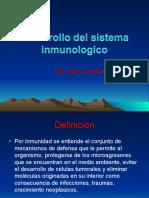 Desarrollo Del Sistema Inmunologico
