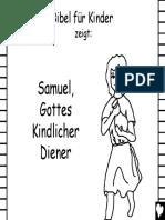 Samuel, Gottes Kindlicher Diener