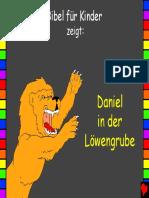 Bibel für Kinder zeigt_ Daniel in der Löwengrube