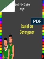 Daniel als Gefangener
