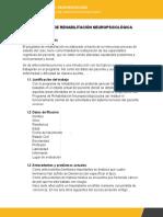 PROGRAMA DE REHABILITACIÓN NEUROPSICOLÓGICA