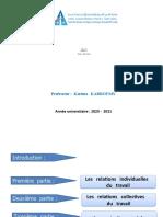 DLF_S3_Droit social_Pr KARROUMY_Chapitre 1