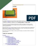 Libreria de gráficos para GLCD K0108 en CCS