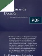 Día 4 - Estructuras de Decisión-Estructura Selectiva Múltiple