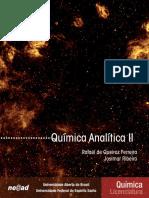 01. Química Analítica II Autor Rafael de Queiroz Ferreira e Josimar Ribeiro