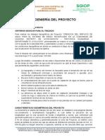 0. INGENIERIA DEL PROYECTO