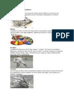 clasificacion de las artes plasticas