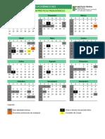 Calendário Pós-graduação Lato Sensu em Práticas Pedagógicas - Edição 2021 - Versão 2