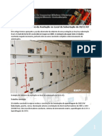 Exemplo de Relatório de Avaliação No Local Da Subestação