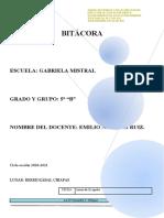 FORMATO DE BITÁCORA 049 word