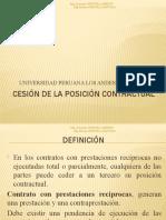11 CESIÓN DE LA POSICIÓN CONTRACTUAL