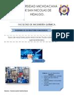 Tipos de reactores para reacciones fluido   solido no catalíticas