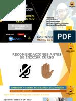 EXPOSICIÓN - TRABAJOS DE ALTO RIESGO - PRIMERA PARTE