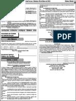 Retificação Do Edital Nº 014-2021-Sead-ses-espep - Diario Oficial 08-05-2021