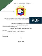 Práctica 2. Medios y Materiales de Comunicación Masivos Electronicos