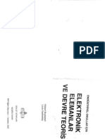 Elektronik Elemanlar ve Devre Teorisi R Boylestad L Nashelsky MEB 5 Bsk İst 04