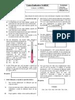 avaliação de física 2