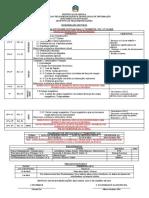 Dosifição de Física do Iº Trimestre 12ª 2020
