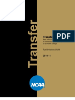 NCAA Transfer Rules