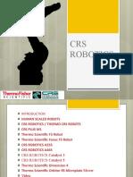 Crs Robotics Thermo Crs Robots Presentation
