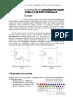 upravljanje koračnim elektromotorom paralelni port