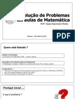 Resolução de Problemas Nas Aulas de Matemática (3)