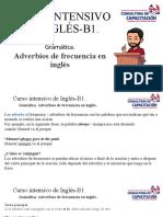 Curso intensivo de Inglés-B1 frecuency adverbs