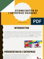 Etude de Cas Colorado