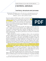 De Espaco e Territorio Estrutura e Processo Haesbaert