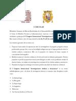"""I Congreso Internacional """"Investigaciones Andinas y Amazónicas"""""""