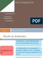 Diseño de Durmientes33