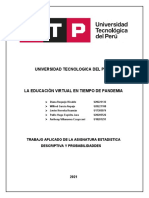 Trabajo Estadistica Avance01 U20205526