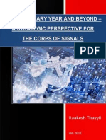 Strategic Perspective for the Corps of Signals