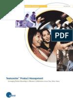 EDS - Teamcenter Product Management Brochure