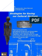 Hajjaji, N. Et Al. Conservation Problems an a New Method Protection Bronzes. 2007