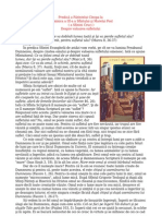 Predica Parintelui Cleopa La Duminica a III-A Din Sfantului Si Marelui Post(a Sfintei Cruci)