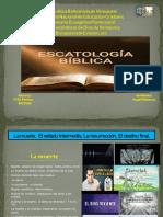 Esquema de Escatologia Final.