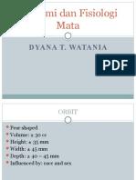 FKG - Anatomi Dan Fisiologi Mata
