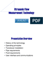 McDowellUltrasonicFlowMeasurement Presentation