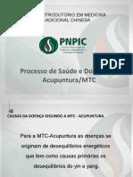 Processo de Saúde e Doença na Acupuntura  MTC