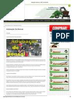 Adubação de Bonsai _ ABC Do Bonsai