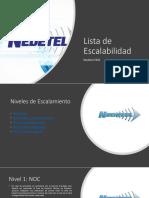 Lista de Escalabilidad - Nedetel Interno_2020