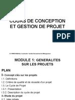 Cours de Conception Et Gestion de Projet Iim 2021 - Copie