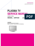 ServiceManuals_LG_TV_PLASMA_42PC5D_42PC5D Service Manual