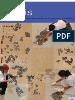 Andino, L. y Deu, N. Arenas coloreadas reintegración pintura mural. 2004