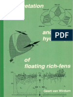 Vegetation and hydrology of floating rich-fens