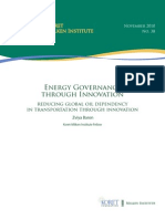 Energy Governance Through Innovation -- Web