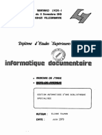 63001 Gestion Automatisee d Une Bibliotheque Specialiseememoire de Stage